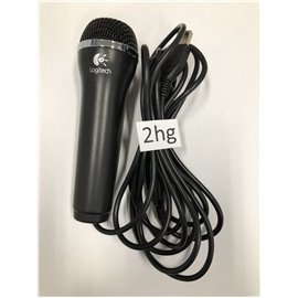 Wii Microfoon Logitech Zwart